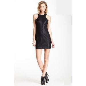 NWOT BB Dakota Faux Leather Dress